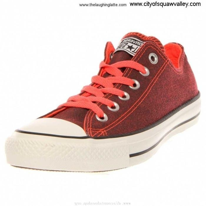 For Sales Women Shoes Converse Chuck Agency Taylor All FieryCoralF Star Ox IG1805387 Canvas BCDEHKUVZ3