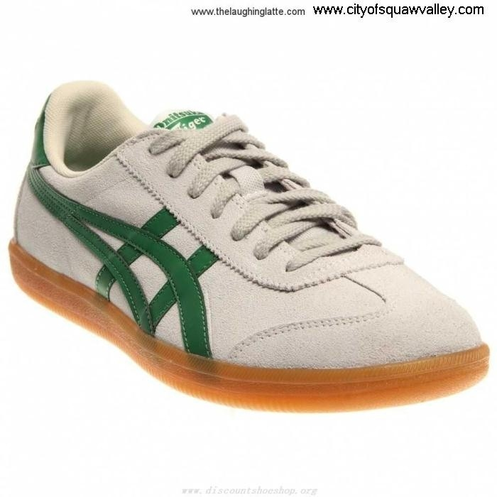 Sale Cheap Mens Shoes Leather Onitsuka SoftGreyGreen FU7102990 Tasteful Tokuten BIMNOY2367