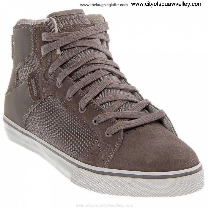 Factory Artful Outlet Mens Shoes Gravis HI RQ6101394 VIKING GreySilver-072 Suede CGJLNVY269