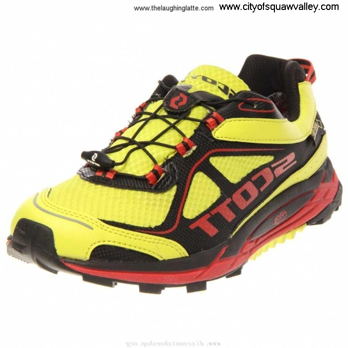 Factory Outlet Mens Shoes Scott eRide Nakoa JE3204171 YellowRed GTX Trail Mesh Latent HIJPQSX567