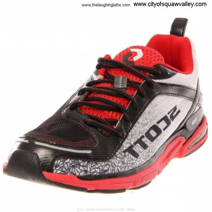For Sales Mens Shoes Aesthetic Scott Support2 IG1804177 Mesh eRide BlackRedWhiteA DJSTVYZ036