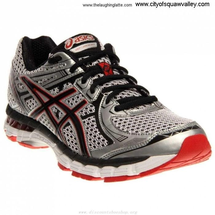 For Sales Mens Shoes Capabilities ASICS GT - 2000 Nylon Mesh 2 IG180407 WhiteBlackRedPepper GHMNOY0569