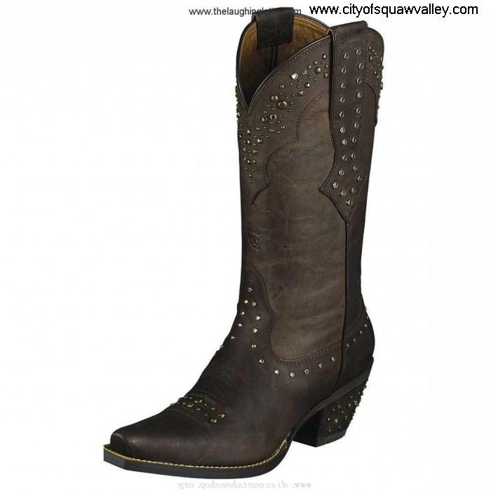 For Sales Women Shoes Ariat Cowgirl Unsurpassed SassyBrown50 Leather IG1805287 Rhinestone FHJNVWX149