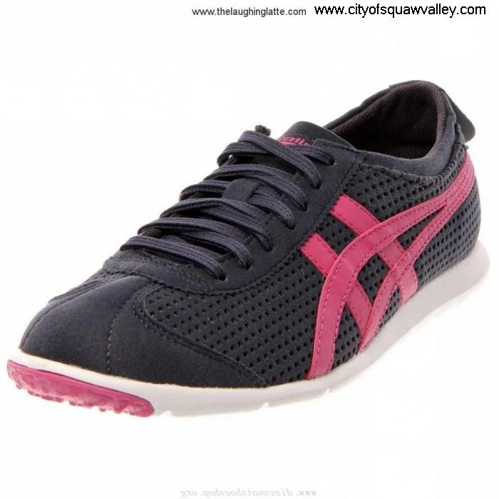 For Sales Women Shoes Onitsuka Rio NavyBluePinkWhite WO Synthetic IG1806237 Plenty Runner BCGJKSV235