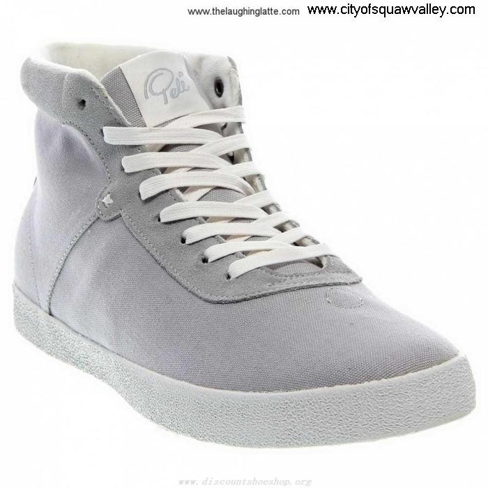 On Sale Mens Shoes Pele Canvas S12FMPS002-050 LF6103095 Azteca Categorical GreyWhite ADJNRTUZ07