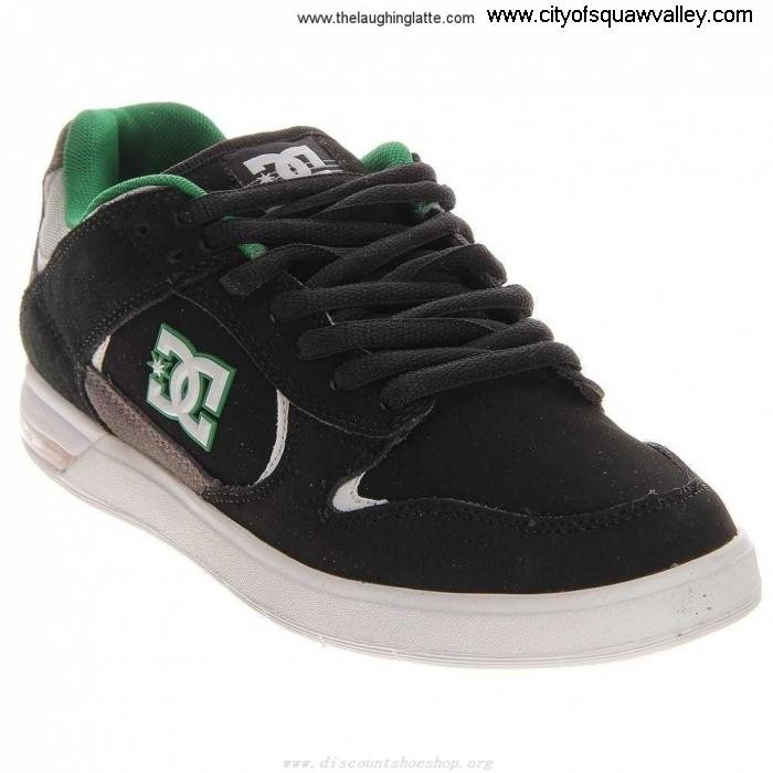 Outlet Mens Meaning Shoes DC Claymore Shoes MX200853 Suede BlackGreenWhite-KBW ADEFNOPV03
