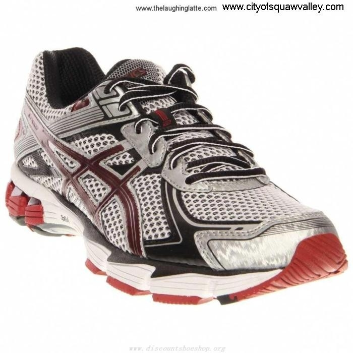 Factory Outlet Mens Shoes ASICS GT - 1000 JE320421 Wish 2 Nylon WhiteMaroonLightning Mesh EFGPVWX239