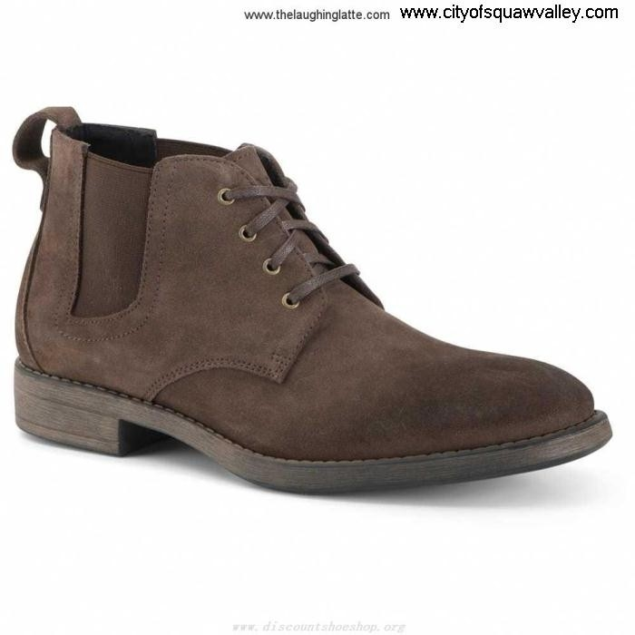 Factory Outlet Mens Shoes Andrew Marc JE320331 Cooper DarkBrownBlack Searching Suede Gore CFIKPRUVW3