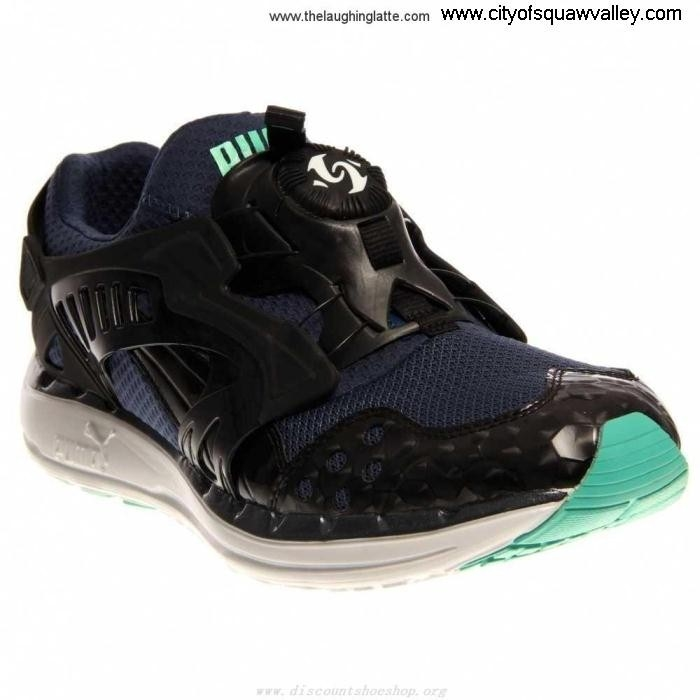 Factory Outlet Mens Shoes Puma Future Maximum Disc Lite Mesh v2 RQ6103444 DarkDenimBlackElectricGreen-01 Opulence BFIMQTY058