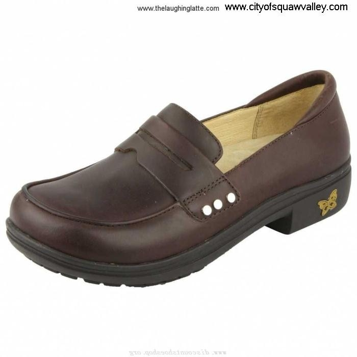 Factory Outlet Women Shoes Alegria JE3205271 Leather Prestige TAY-602 Taylor GravyPull-Up AEFILPSTX5