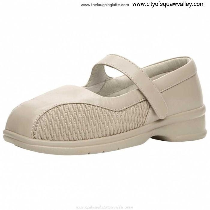 Factory Outlet Women Shoes Propet Erika Commonly Bone Leather RQ6106324 WPRX12-BO EJLMPX0148
