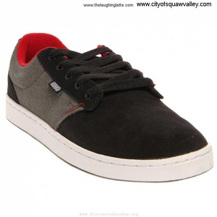 Factory Peaceful Outlet Mens Shoes BlackGrey Suede Inmate RQ6101064 DVS FMNOQUWY09
