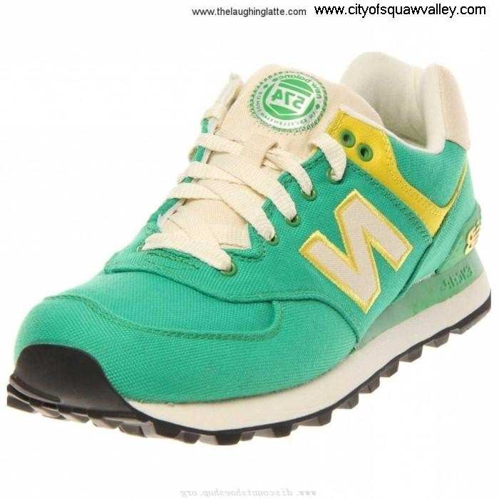 For Sales Women Shoes New Balance GreenYellow Originality WL574RUG IG1805957 574 N/A EIORVY5678
