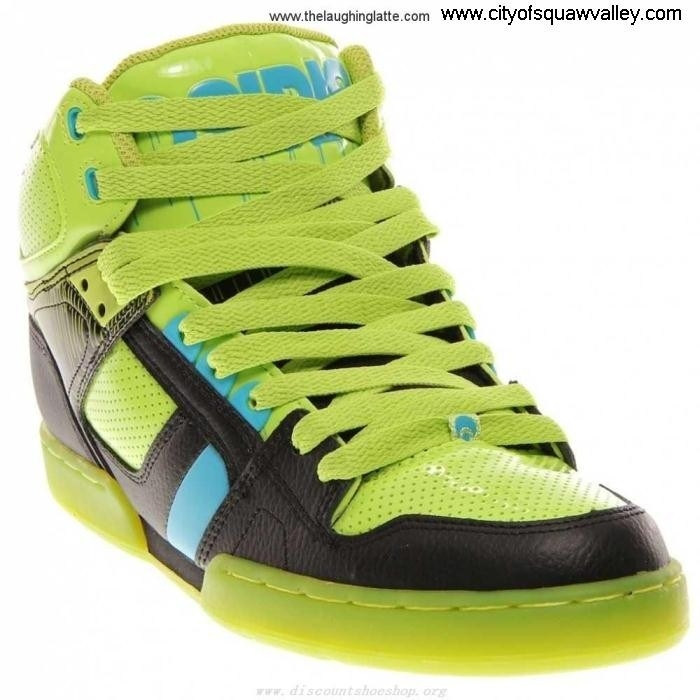 On Sale Mens Shoes Osiris NYC LimeGreenBlueBlack Judicious 83 1130-1871 Synthetic LF6103065 DHIPW23589