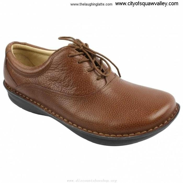 Online Mens Excellence Shoes Spock DL510318 Leather CognacPull-Up Alegria QSWXZ02678