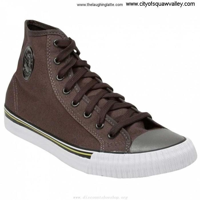 Online Mens Shoes PF Flyers Center Hi DL5103098 Black Canvas Furnish PM11CH3H FLMQRV0567