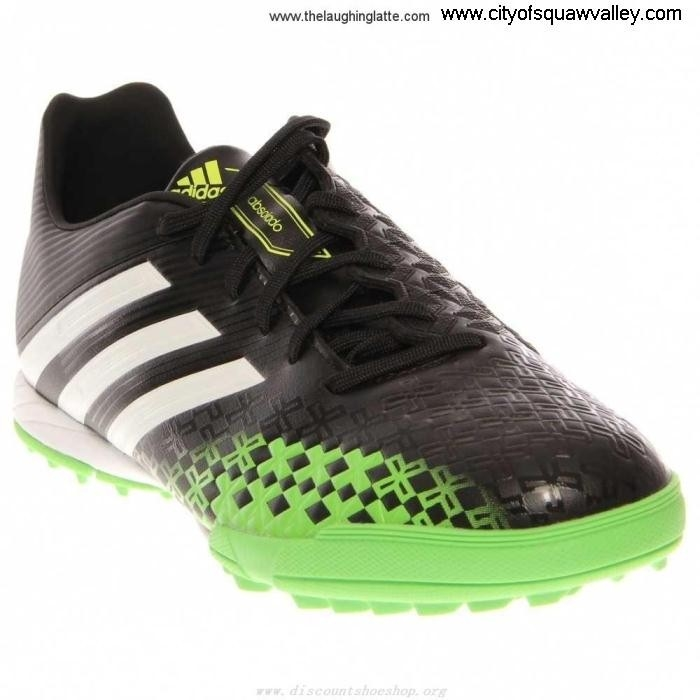 Outlet Mens Shoes adidas ABSOLADO LZ Leather Healthful BLACKWHITEGREEN TF VA21012 TRX CDEFNORV39