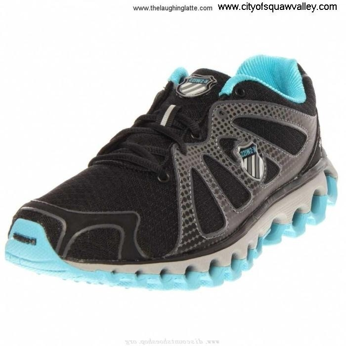 Outlet Women Shoes K-Swiss Tubes MX2005703 Mesh Run BlackCharcoalFijiBlue-086 130 Highly AIMNOPQT67