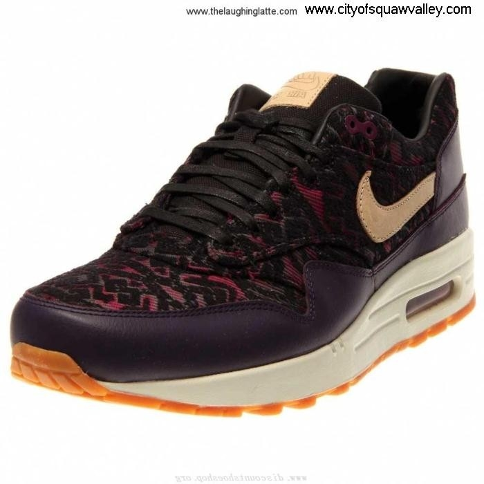 Outlet Women Shoes Nike Air Max PurpleDynastyLinenBlackRaspberryRed-500 1 MX2006043 Premium Leather Company BCEGLMNWYZ