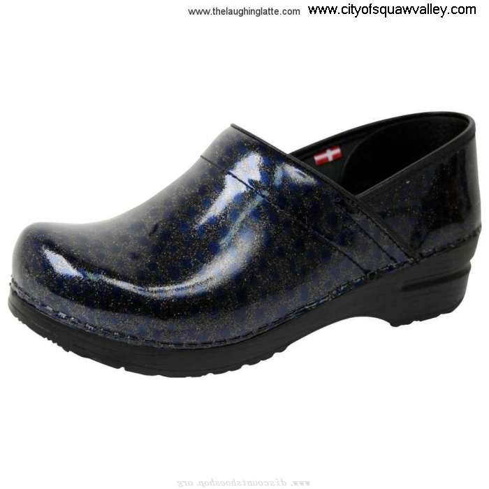 Outlet Women Shoes Sanita Clogs Considerably Smart Step Professional Skylar Blue-05 Leather Patent MX2006923 CDEGHIJN69