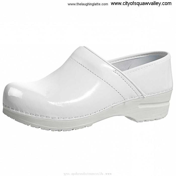 Outlet Women Shoes Sanita Clogs Leather Professional White-1 VA2106872 Celina Efficiency BDJMOSVXY1