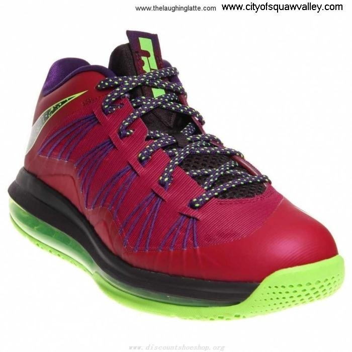 Sale Cheap Mens Shoes Nike Air Max LeBron FU7102340 Solutions RaspberryRedBlueprintCourtPurple-601 X Low Synthetic CDIJSVYZ09