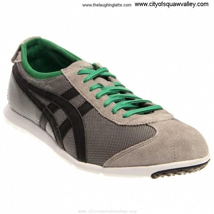 Sale Cheap Smart Mens Shoes Onitsuka Rio Runner FU7102970 LightGreyBlack Mesh Nylon BFKLMRU689