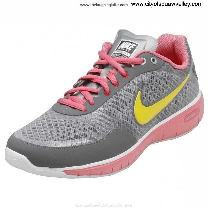 Sale Cheap Women Shoes Nike Free XT Everyday Vital Fit GreyPinkYellow-009 + Nylon Mesh ZJ7206159 ACGJW01258