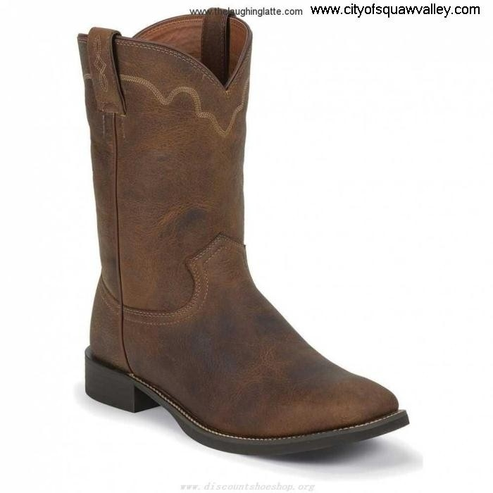 Sale Exceptional Outlet Store Mens Shoes Justin Boots Rugged Tan Tan Cow 3904 PP2201496 Leather AGJKNOQSX3