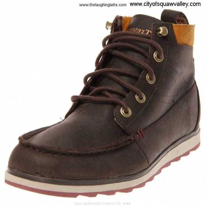 Sale Infinite Cheap Mens Shoes Tretorn Leather holdyn FU7104610 ChocolateBrown-01 leather CHQRTWY045
