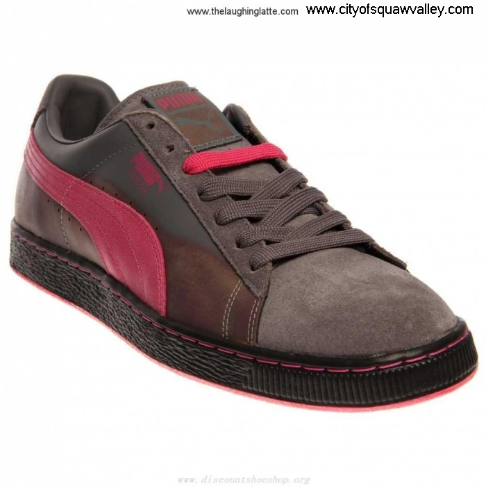 Sale Outlet Store Reliability Mens Shoes Puma Suede Colorburn Suede SteelGrayBeetroot-03 PP2203666 Classic ACEIKOPUZ1