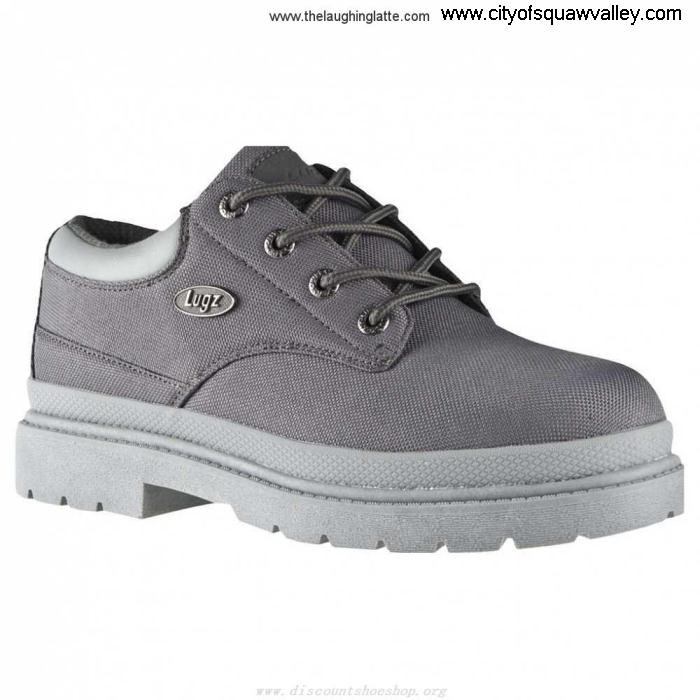 Factory Outlet Mens Requirement Shoes Lugz Drifter Lo JE3201981 Grey MDRLT-093 Ballistic Nylon ABDEFJTX02