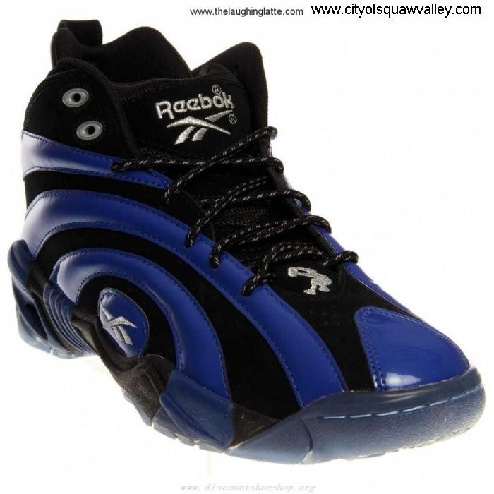 Factory Outlet Mens Shoes Reebok JE3203811 Synthetic Compliment Shaqnosis OG BlackTruthBlueWhite FGIOZ35789