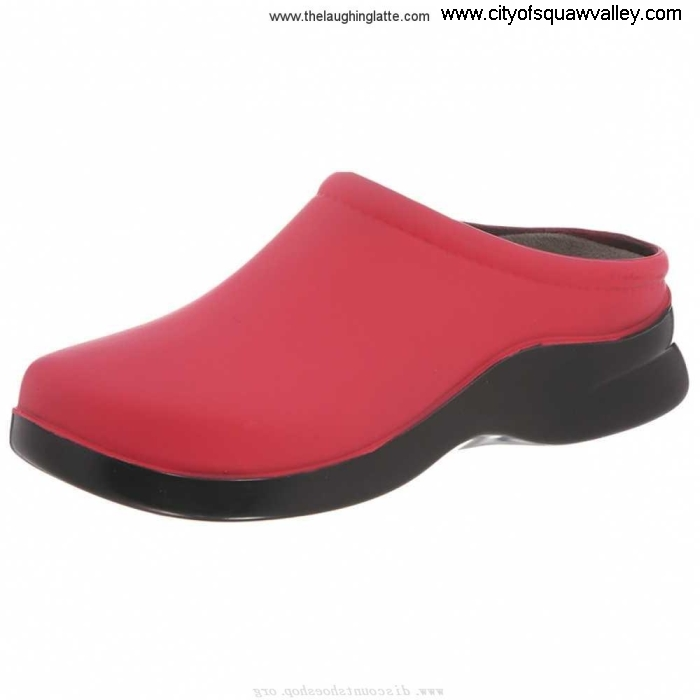 Factory Outlet Women Shoes Klogs Polyurethane Holiday Dusty 0007-6056 JE3205851 BerryCrush ABNOSVX014
