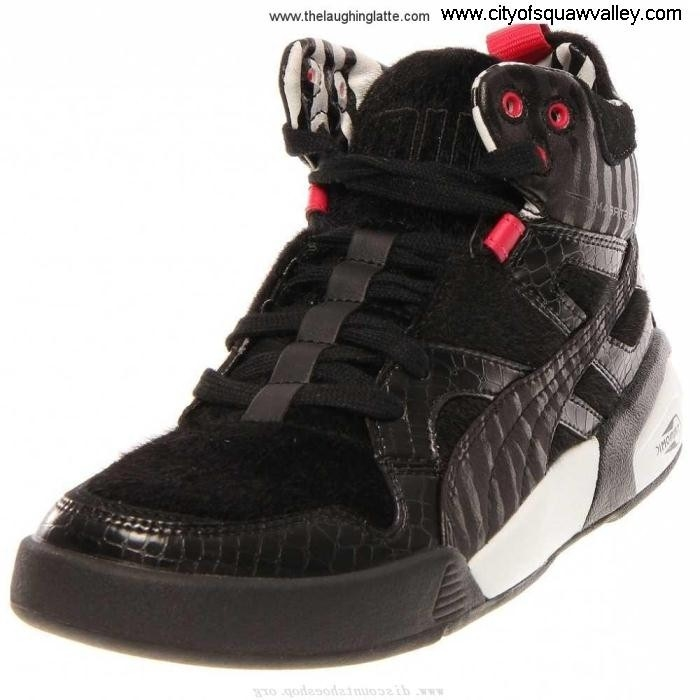 Factory Outlet Women Shoes Puma Future Trinomic Slipstream LT Leather Fond RQ6106534 Black-02 Wild Mid IJLNORY027