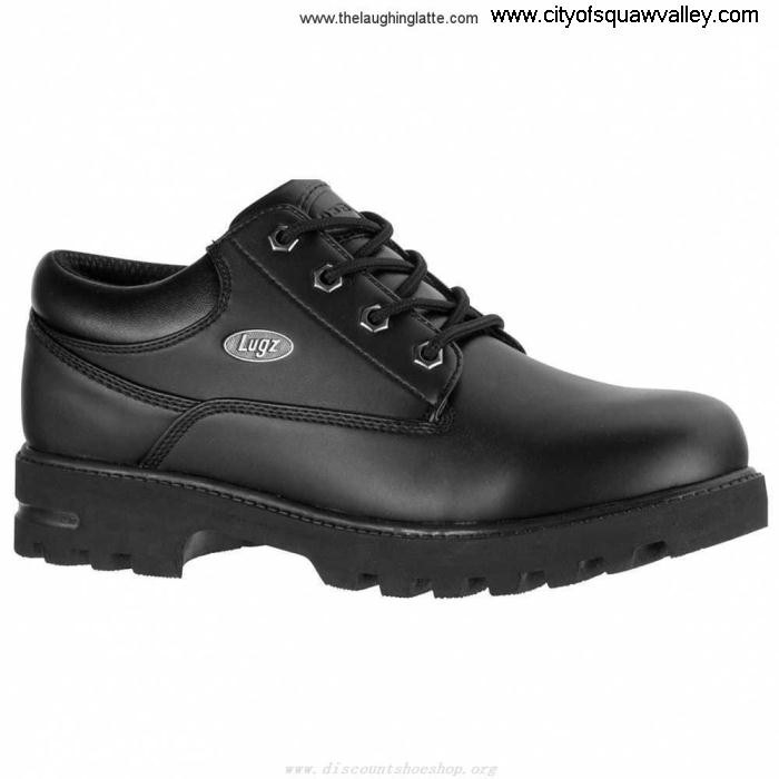 For Sales Mens Biggest-selling Shoes Lugz Empire Lo IG1802027 Black Resistant Water Synthetic AFIKOTZ147