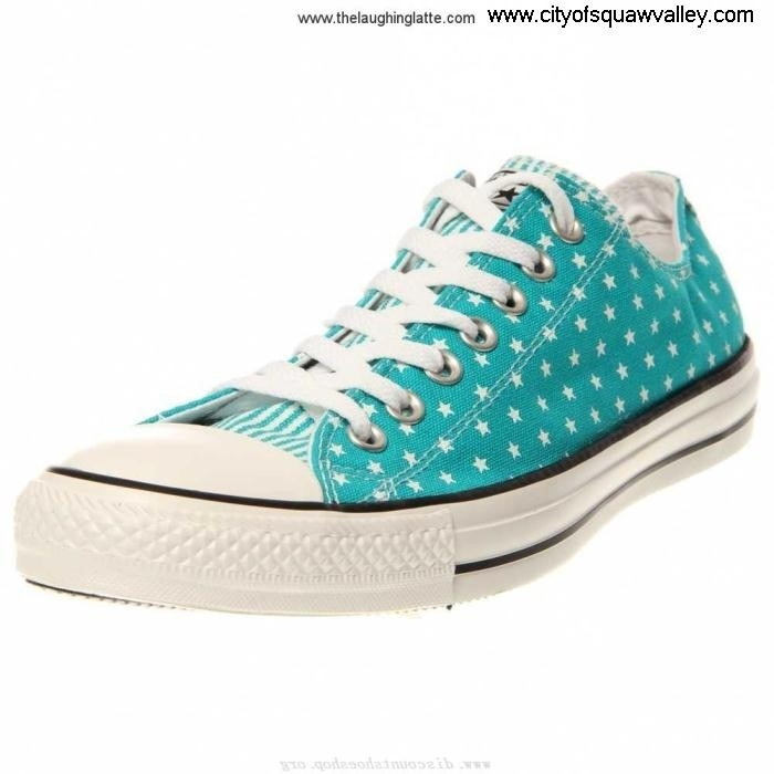 For Sales Women Happy Shoes Converse Chuck Taylor All Star Mini Ox IG1805367 Canvas MediterraneanWhiteF ABDEHOVZ27
