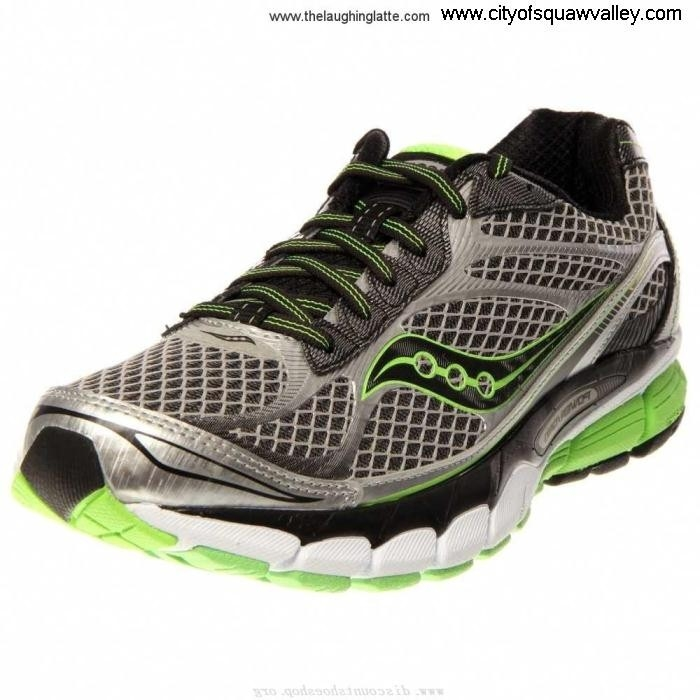 On Sale Mens Shoes Saucony LF6104145 Knowledgeable Mesh SilverBlackSlime-2 Ride 7 BFLNTUX235