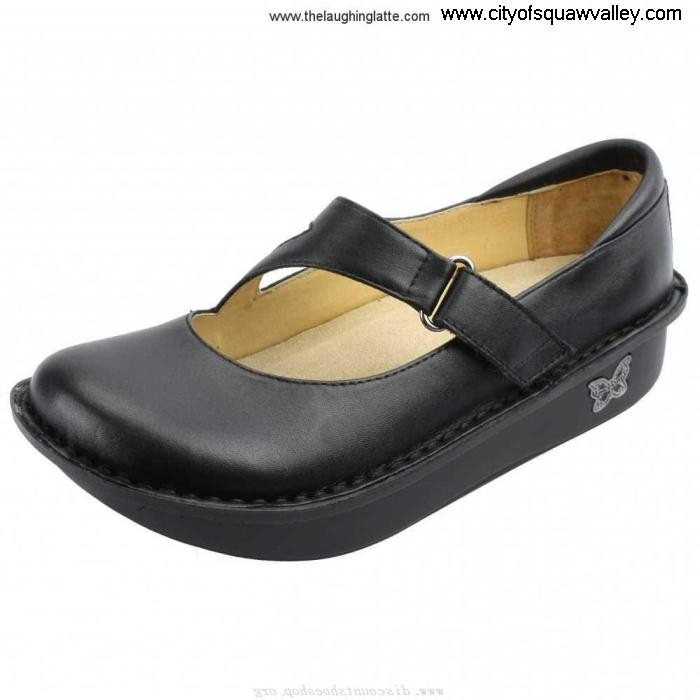 Online Acknowledgement Women Shoes Alegria DAY-601 Black DL5105088 Leather Dayna AEFGIPRVZ6