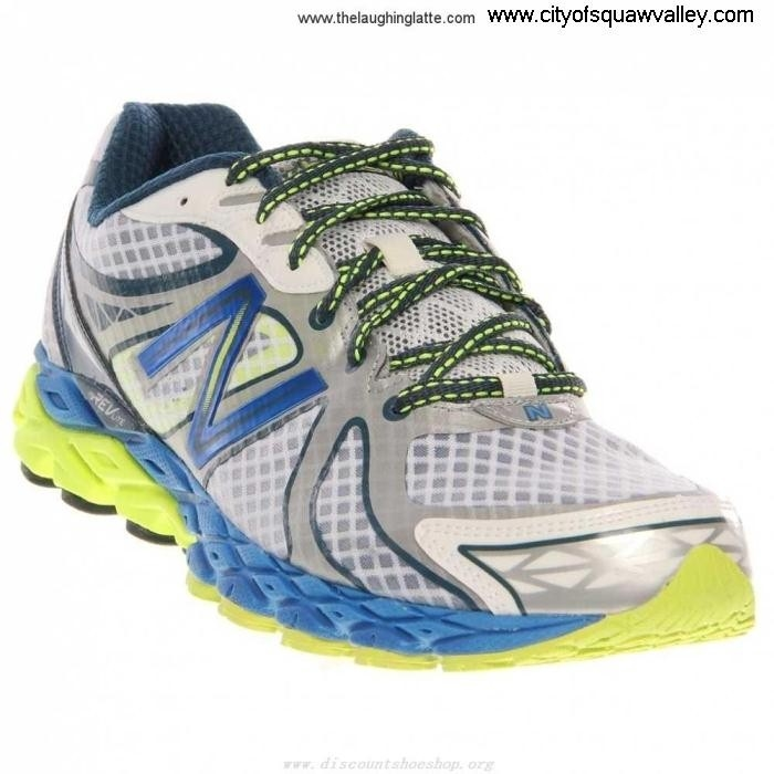 Online Mens Shoes New Balance WHITEBLUEYELLOW Mesh Reduction 870v3 DL5102158 M870WB3 ACFPTUW238