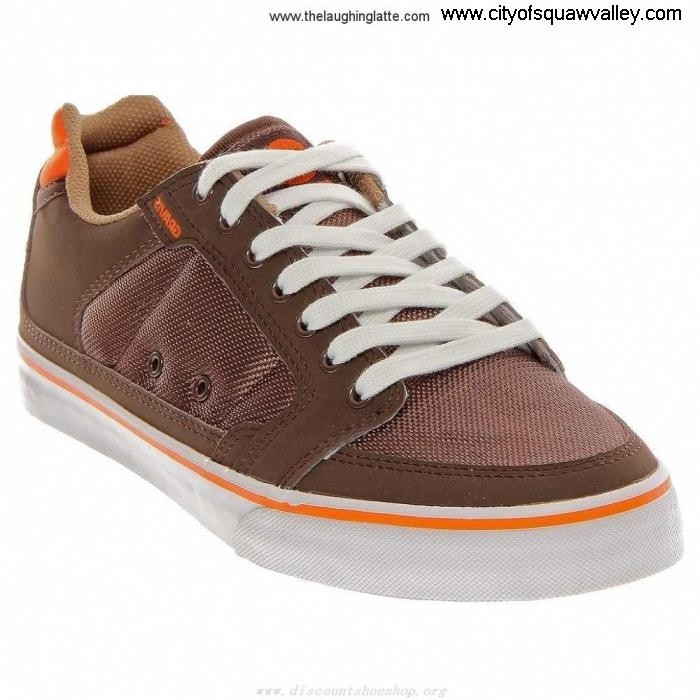 Outlet Mens Shoes LOWDOWN MX2001383 BrownWhiteOrange-217 Nowadays Gravis Synthetic CDIJOZ2678