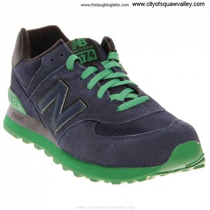 Outlet Mens Shoes New Balance MX2002153 NavyGreen Suede ML574NKK 574 Savings AKPWXY0289