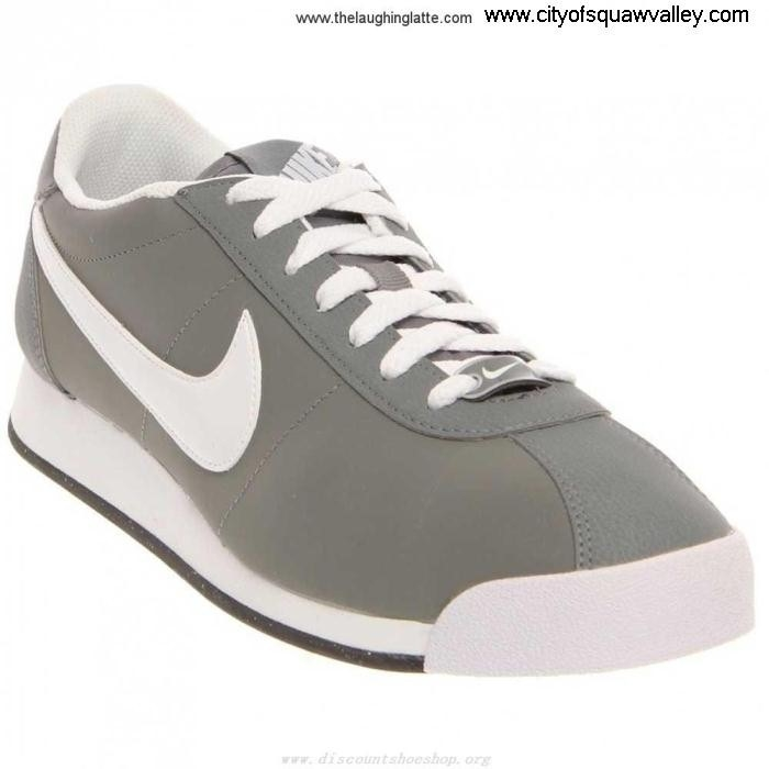 Outlet Mens Shoes Nike Leather Marquee Brilliant CoolGreyWhiteBlackMercuryGery-010 Leather MX2002803 FGLOTWY278
