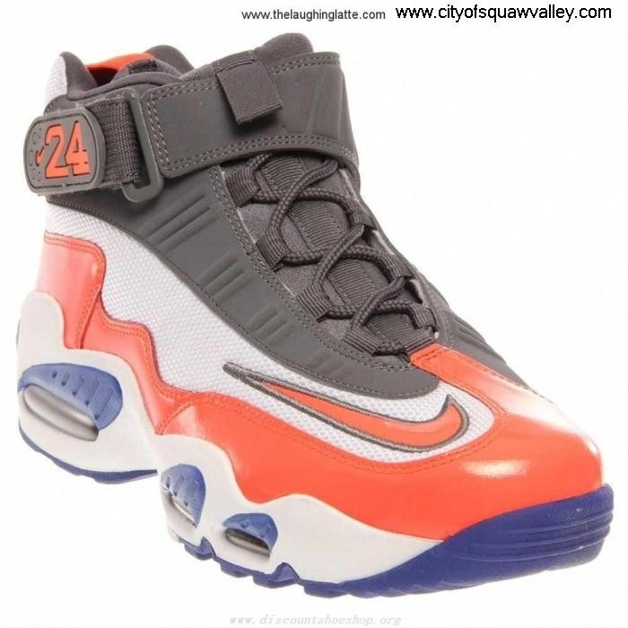 Sale Cheap Mens Shoes Nike Air Griffey Concise 1 Max WhiteNeonOrangeBlue-103 ZJ7202269 Synthetic BDLWXZ3578