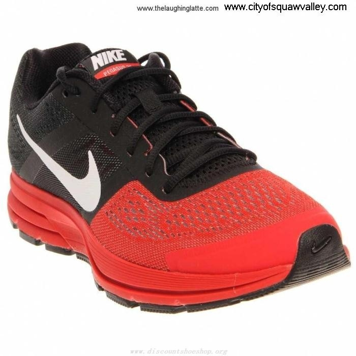 Sale Cheap Mens Shoes Nike Air Pegasus+ 30 Mesh FU7102360 BlackWhiteCrimson-016 Absorbing Nylon BEOQS02678