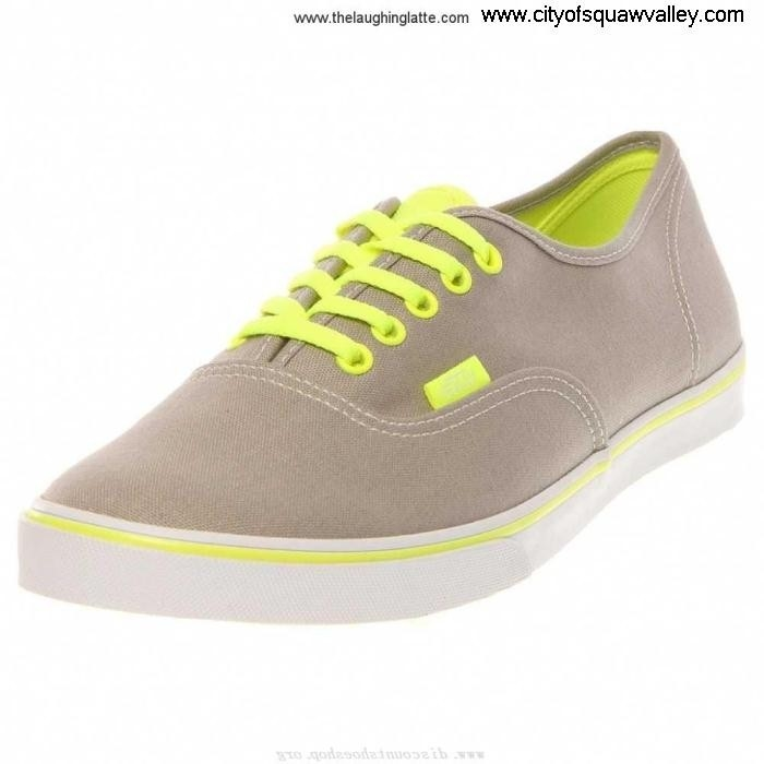 Sale Cheap Mens Shoes Vans Authentic Lo Pro NeonGreyYellow VN-0T9N8GF ZJ7204679 Answer Canvas AHKMNVZ147