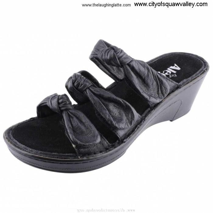 Sale Cheap Women Shoes Alegria Leather Lilia LIL-601 BlackLeather Avail FU7105190 EGMNOPTUVW