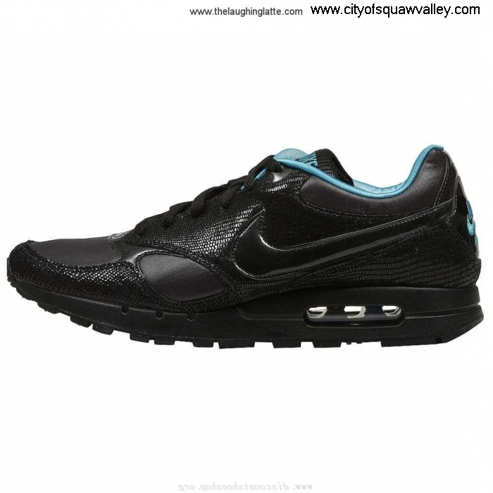 Sale Cheap Women Shoes Nike Leather ZJ7206069 Air Zynth BlackTurquoise-008 Modernity IJLMTUWZ49