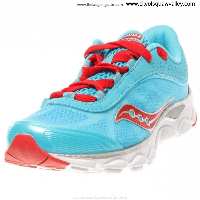 Sale Outlet Suggested Store Women Shoes Saucony PP2207046 Mesh Virrata BrightBlueRed-6 Nylon EHJMNOQ679