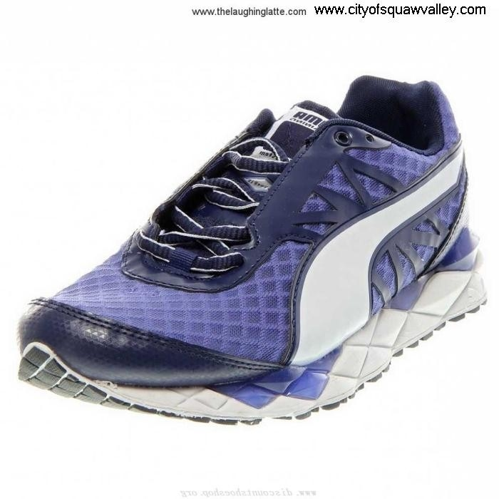 Sale Workmanship Cheap Women Shoes Puma Pumagility XT Mesh BlueWhite-01 ZJ7206599 Elite DMD GIJQSUZ039